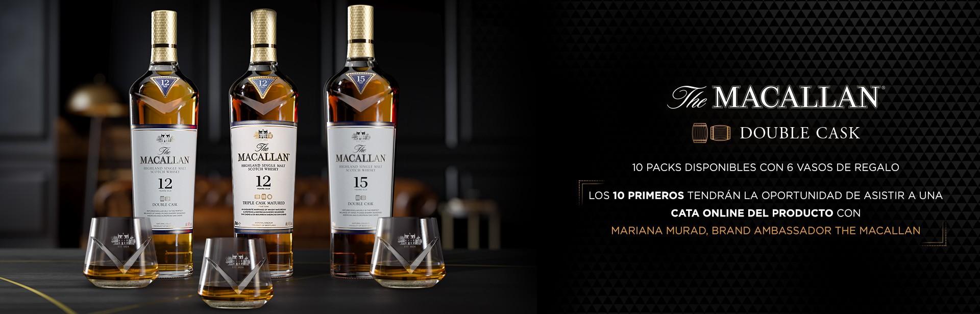 The Macallan Pack Vasos Regalo